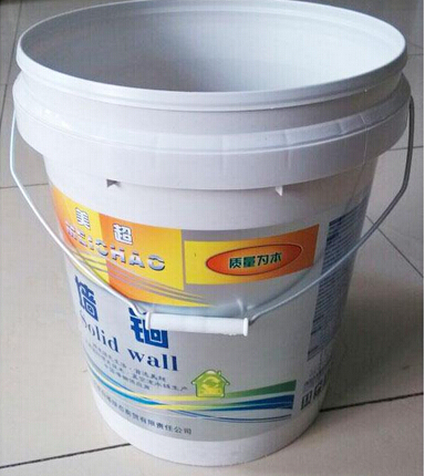 IML paint bucket mold