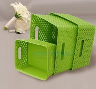 plastic rattan crate mould