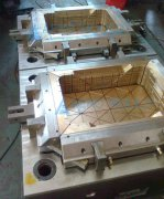 two cavity crate mould